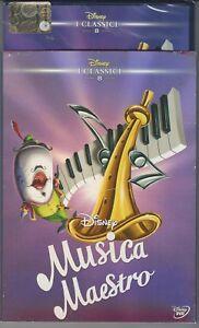 DVD-MUSICA-MAESTRO-DISNEY-ED-REPACK-2015-CON-SLIP-COVER-NUOVO-SIGILLATO