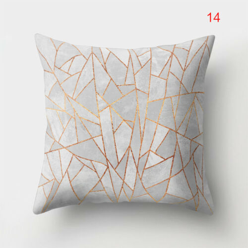 Colorful Fashion Simple Sofa Pillowcase Home Bedroom Living Room Decor New