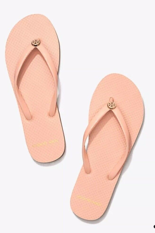 Tory Burch Solid Thin Flip-Flop in Perfect bluesh color Size 11