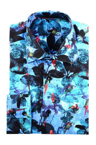 BERTIGO dress shirt VERA WHITE LABEL REG $ 199 92