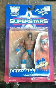 Ultimate Warrior Wwe Wwf Superstars Series 2 (Figurine Articulée) Nib Jakks 1996 39897804026