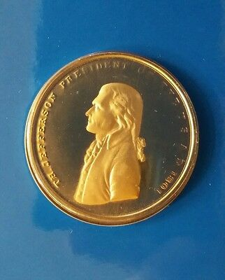 Medals Thomas Jefferson American Presidents Collection Hallmark/us Mint/usps Issue A Great Variety Of Goods Coins & Paper Money
