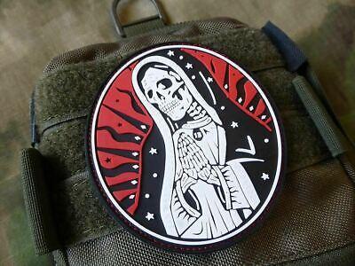 Jackets To Go JTG Santa Muerte 3D Rubber Patch Airsoft Milsim