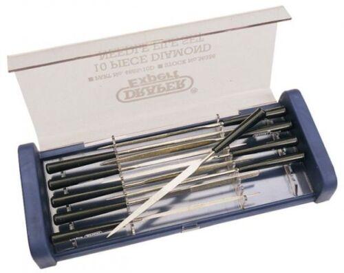 Draper Expert 10 Piece 140mm Diamond Needle File Set 36326 4885//10d