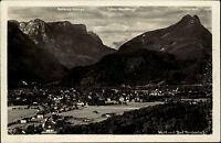 BAD REICHENHALL Bayern Gesamtansicht Alpen alte AK Panorama Cosy Verlag 1950