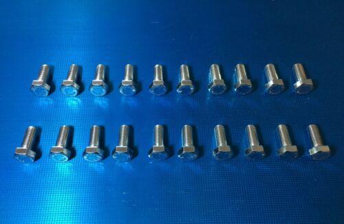 "Bright Zinc Plated High Tensile Steel Setscrews 20 Pack.5//16 x 3//4/"" UNF Bolts"