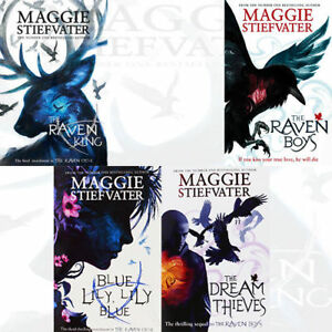 Maggie-Stiefvater-The-Raven-Cycle-Series-Collection-4-Books-Set-The-Raven-King
