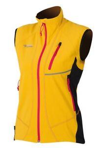 Details zu Direct Alpine Attack Lady Vest, Softshell Weste für Damen, gold, Gr. S