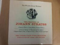 LP The Waltzes of JOHANN STRAUSS J L Gruber