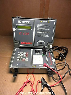 Brillant Seaward It1000 Electrical Safety Tester Vde- Und Sicherheitstester Incl Cables