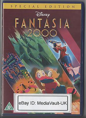 FANTASIA 2000 DISNEY DVD - SPECIAL EDITION - UK RELEASE