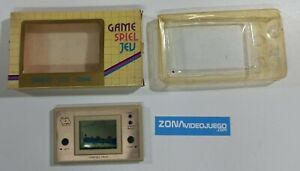 Juego electronico LCD, Jumping Frog, Play & Time. NO FUNCIONA. SIN GARANTIA
