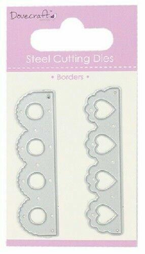 Dovecraft Borders Steel Cutting Dies DCDIE014