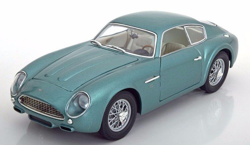 blancbox 1960 ASTON MARTIN DB4 GT Zagato Vert Métallique 1 18New