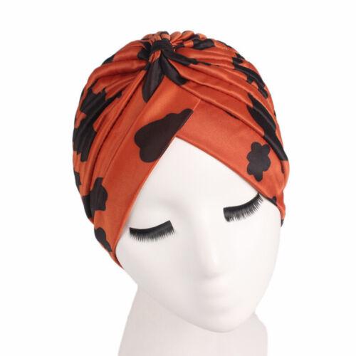 Muslim Women Cancer Hat Chemo Cap Hair Loss Head Scarf Turban Head Wrap Cover