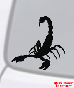 SCORPION Vinyl Decal Sticker Car Truck Window Wall Bumper Laptop Macbook Spider