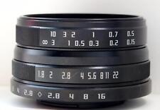 NEW Wesley 24mm F1.8 Macro MC Lens for Sony E NEX Mount APS-C Sensor Camera