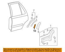 TOYOTA OEM 10-18 4Runner Exterior-Rear-Upper Pad Left 7579835020
