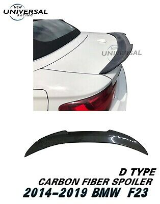 Carbon Fiber Rear Trunk Spoiler Lip For 2014-2018 BMW F22 220i 228i 235i Type C