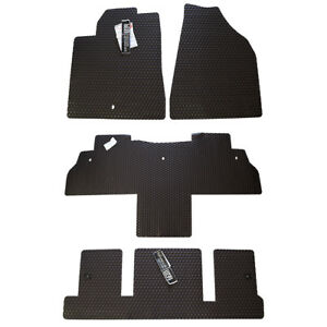 Buick Enclave All Weather Rubber Floor Mats Full Set