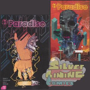 PARADISO-1-Set-of-Two-COVER-A-amp-B-1ST-PRINT-IMAGE-COMICS