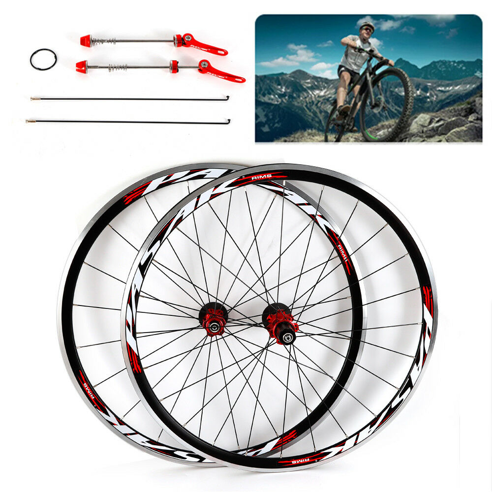 700C 30mm Road Bike  Wheels Racing Bicycle Wheelset Hub 7075 Aluminium Alloy USA  authentic