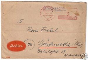 PFS-Erfurt-1-17-6-47-UB-c-aptierter-Wertstempel-von-vor-1945
