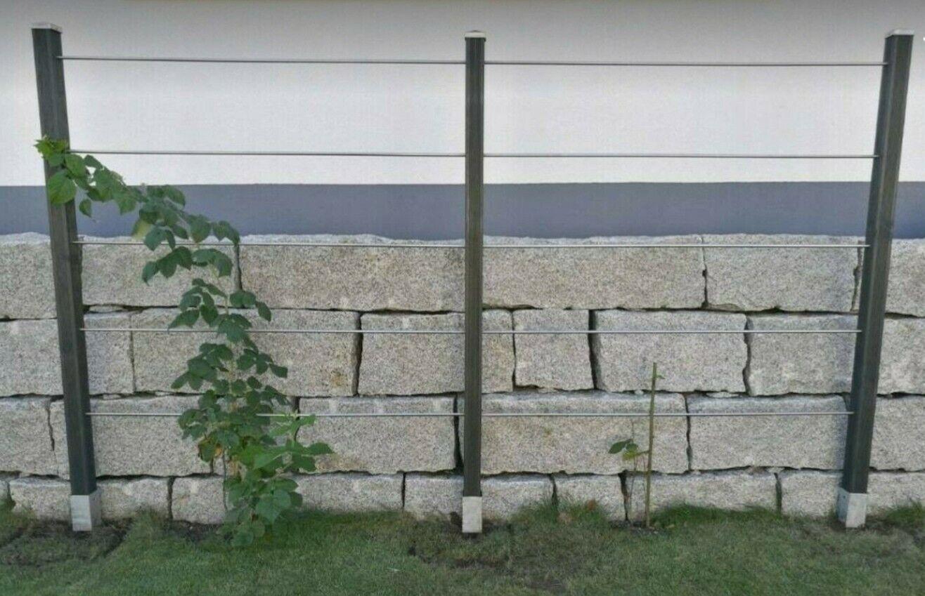 Rankgitter Höhe 199 cm Metall Spalier Rankhilfe Kletterhilfe