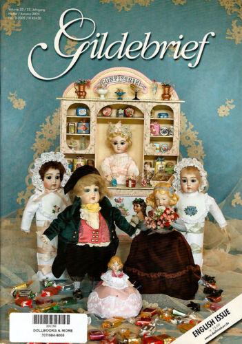 Gildebrief 3//2005 Dollmaking Dress Patterns Antique Dream in Aquamarine Part 1