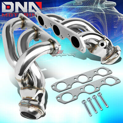 DNA Motoring HDS-FM01-SHORTY Stainless Steel Exhaust Header Manifold