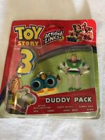 Toy Story 3 Duddy Pack Buzz & Lenny Disney Figures Rare Unique Collectible