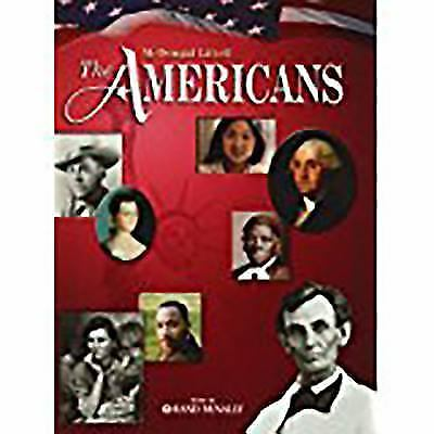 The Americans McDougal Littell The Americans Grades 9 12 2008 Hardcover Student Edition Of Textbook For Sale Online EBay