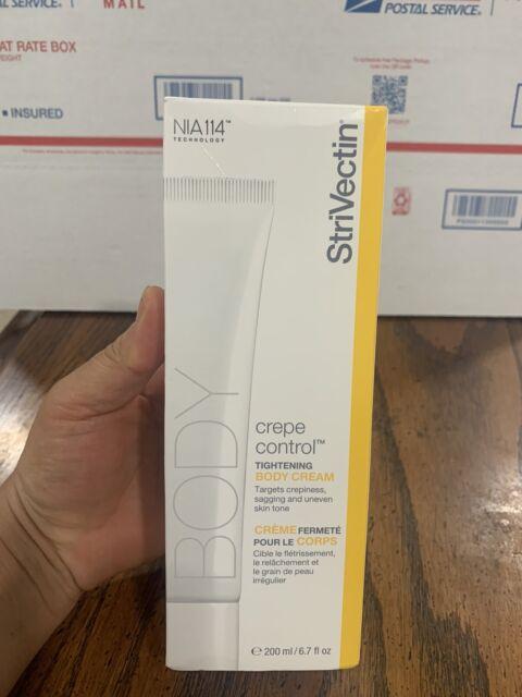 StriVectin Crepe Control Tightening Body Cream 6.7 Fl Iz NIB