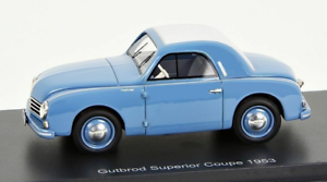 GUTBROD superior COUPE 1 43 1953 Bos models 193824