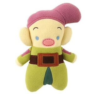 Disney-Snow-White-Pook-a-Looz-Dopey-Plush-Doll