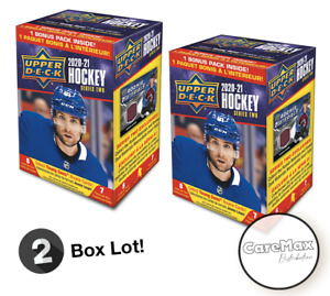 2020-21 Upper Deck Series 2 Hockey Blaster Box (2 box lot!!!)