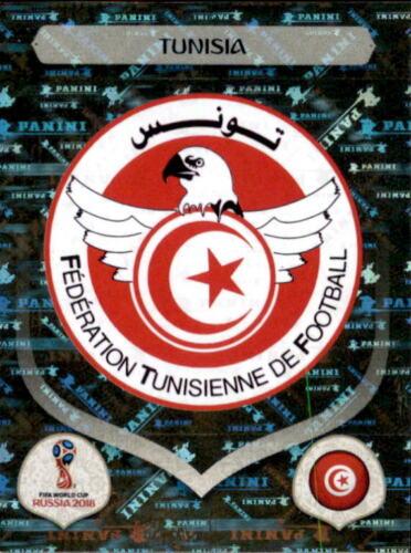 Tunesien Sticker 552 Emblem Panini WM 2018 World Cup Russia Tunesien