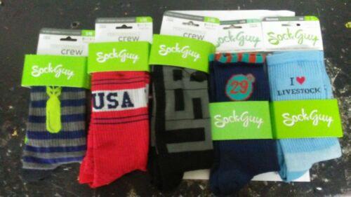 M L New Sockguy Crew Socks S XL Unisex Men Woman Sock Bicycle Cycling guy