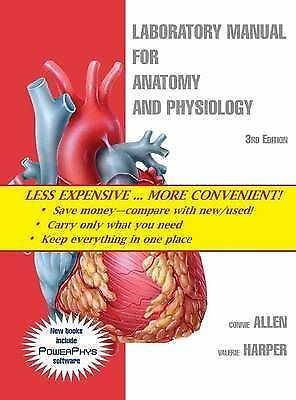 Laboratory Manual for Anatomy and Physiology 3rd Edition RRP $170-- FREE POSTAGE