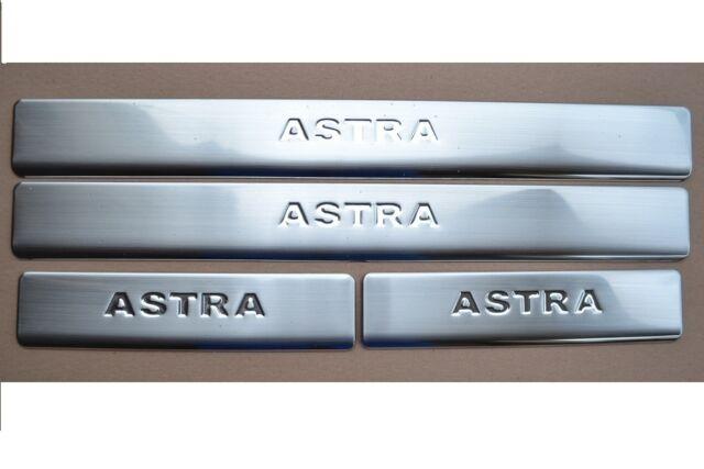 Einstiegsleisten für Opel Astra H Edelstahl Schwellerleisten mit Abkantung NEU