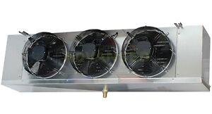low profile walk in cooler evaporator 3 fans blower 14 000. Black Bedroom Furniture Sets. Home Design Ideas