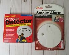 Family Gard Smoke Detectors Model # FG777D Brand New Factory Sealed TWIN PACK