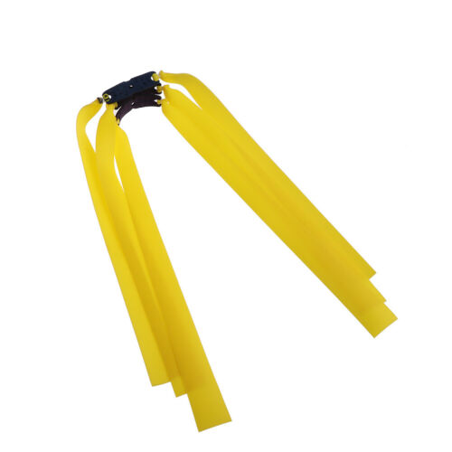 3X accessory catapult latex tape natural rubber flat elastic bands for slingshFD