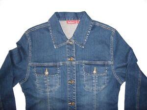 watch 09d17 9f3ba Details zu Jacke Damenmode Schöne Figurbetonte Jeansjacke Damenjacke Jeans  Blau Gr.38 NEU !