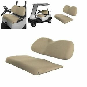 Stupendous Details About Classic Accessories Fairway Golf Cart Air Mesh Bench Universal Seat Cover Khaki Caraccident5 Cool Chair Designs And Ideas Caraccident5Info