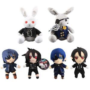 Black-Butler-Sebastian-amp-Ciel-Kuroshitsuji-Anime-Plush-Doll-Toy-Kids-Xmas-Gift