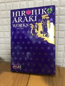 HIROHIKO ARAKI WORKS JoJo/'s Bizarre Adventure Illustration Art Book 1981-2012