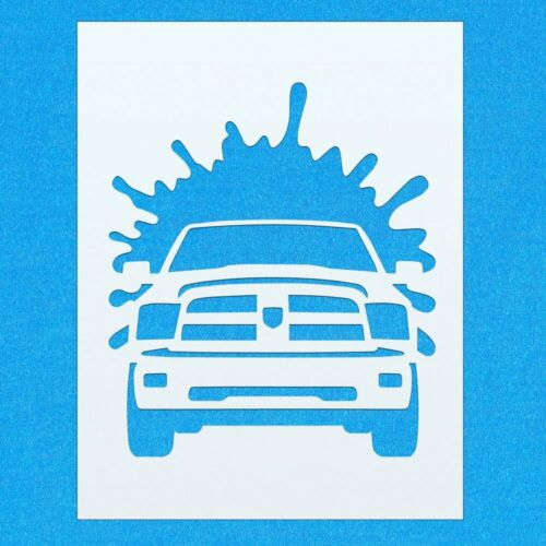 Dodge Truck Car Vehicle Wheel Mylar Airbrush Painting Wall Art Crafts Stencil