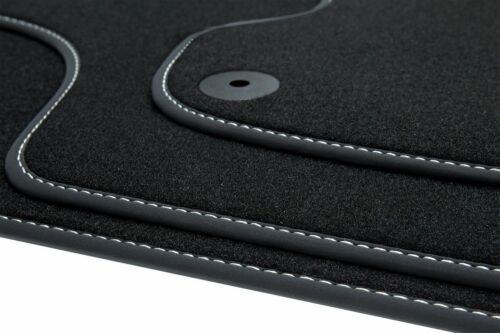 Invierno tapices para audi a4 8h b6 b7 convertible S-line año 2002-2009 negro