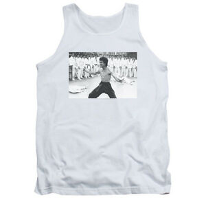 BRUCE-LEE-TRIUMPHANT-Licensed-Adult-Men-039-s-Graphic-Tank-Top-Sleeveless-Tee-SM-2XL